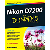 Nikon D7200 For Dummies book cover