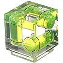 Polaroid Hot Shoe Three Axis Triple Bubble Spirit Level For Canon and Nikon Digital and Film Cameras