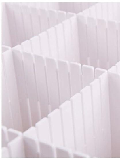 Set Of 2 Piece Plastic Storage Cabinet Drawer Divider Partition