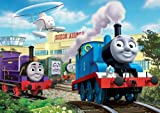 Thomas & Friends at The Airport Floor Puzzle in a Suitcase Box, 24-Piece