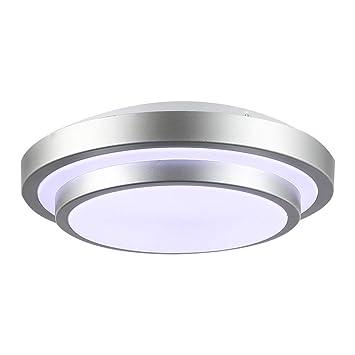 QP Lámpara de salón/lámpara de Dormitorio/lámpara Redonda ...