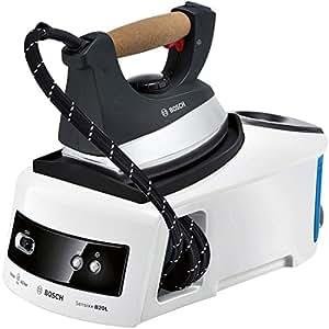 Bosch Sensixx B20L- Centro de planchado, 2300 W, 4,5 bares, autonomía ilimitada, 110g/min, 1,2 L, base aluminio, color blanco