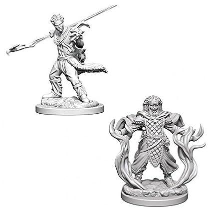 Male D&D Nolzur's Marvelous Miniatures Unpainted Human Druid