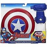 Avengers B9944EU40- Scudo Magnetico da Capitan America (Marvel), con Guanto