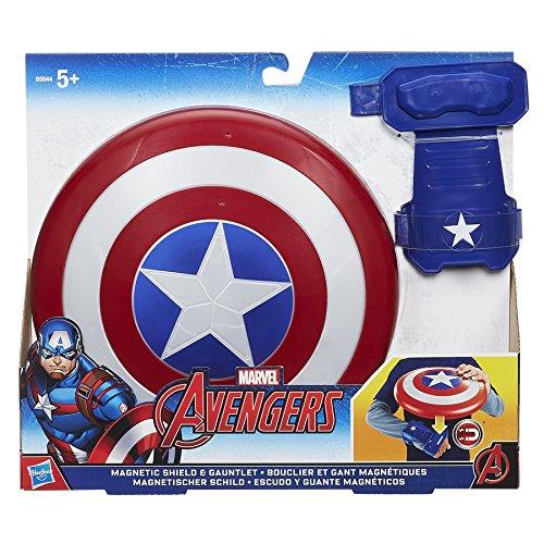 Marvel Avengers . B9944 Avengers Captain America Bouclier Magnetique Hasbro B9944EU4