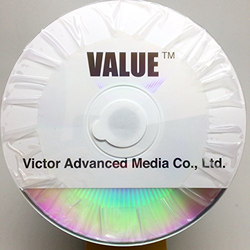 Cmc Pro/Taiyo Yuden DVD-R4.7GB/120MIN Valueline 8X/16X Silver Thermal Lacquer Clear Hub Surface 100pcs Bulk Clear Wrap