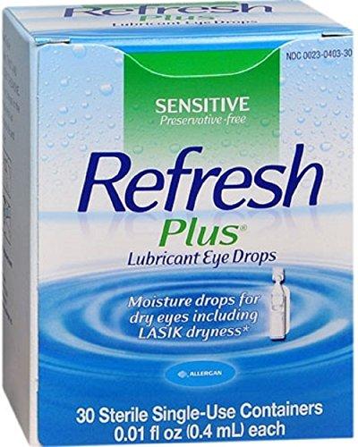 Refresh Plus - Lubricant Eye Drops - 0.01 oz. - Drop-McK