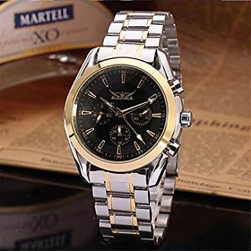 XKC-watches Relojes para Hombres, Jaragar Hombre Reloj de Pulsera Reloj de Vestir Reloj