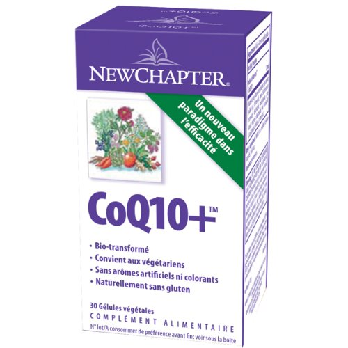 (New Chapter - CoQ10+ Food Complex - 30 Vegetarian Capsules)