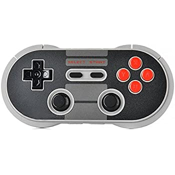 Lobeliaer 8bitdo NES30 Pro Wireless Bluetooth Controller for IOS/Android/Windows Pc/Mac Classic Multi Mode Gamepad