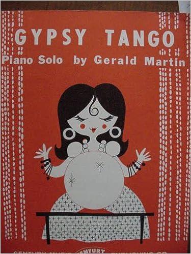 gypsy tango pianoo solo century edition 4400