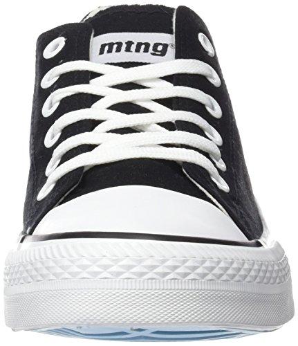 MTNG Attitude (MTNG8) 15380 - Zapatillas para hombre, color negro Negro (CANVAS NEGRO)