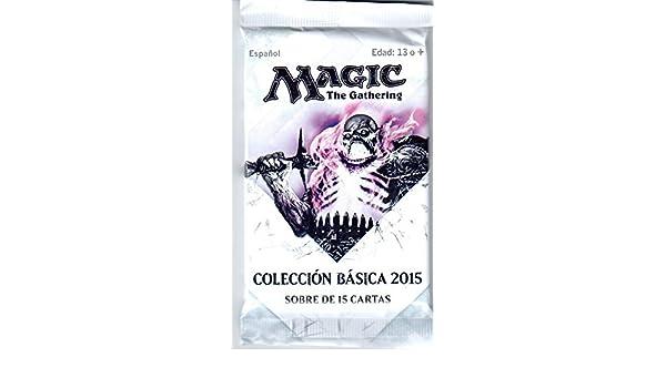M 15 MAGIC: THE GATHERING SOBRE 15 CARTAS COLECCIÓN BÁSICA ...