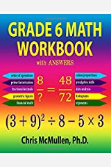 Grade 6 Math Workbook with Answers (Improve Your Math Fluency) Paperback