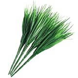 Lvcky 4Pcs Fake Wheat Grass Bouquets Artificial Plastic Shrubs Plants Arrangement Greenery