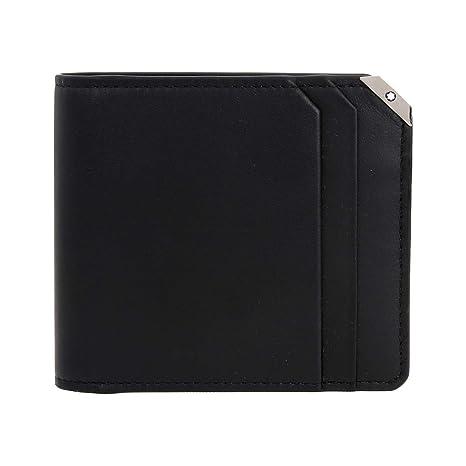 Mont Blanc 114670 Urban Spirit Cartera, piel, color negro: Amazon.es: Oficina y papelería