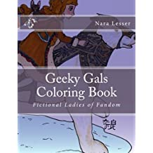 Geeky Gals Coloring Book