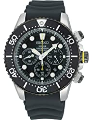 Seiko Solar Divers Watch Chronograph Ssc021p1