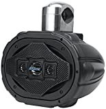 Lanzar Marine 6'' x 9'' Bluetooth Wakeboard Speaker [Active Powered Tower Speaker] 4-Way