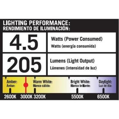 Hampton Bay Low Voltage Black Outdoor LED Flood Light