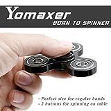 Yomaxer Tri-Spinner Fidget Toy Hybrid Si3N4 Ceramic Bearing Nylon PA Material Good for ADHD EDC Hands Killing Time