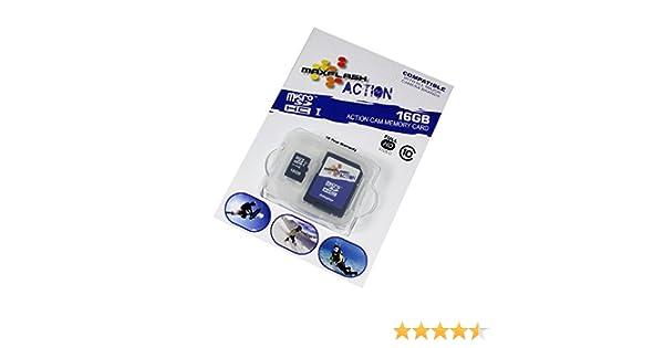 Tarjeta de memoria 16 GB para Samsung Galaxy S4 LTE GT-I9505 (Micro SD)