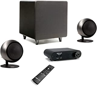 product image for Orb Audio: Booster1 Micro Soundbar and Stereo Speaker System with EZ Voice - Remote Included - TV Sound Bar Alternative - Provides Crisp, Detailed Sound - Lifts Dialogue Above Background Noise