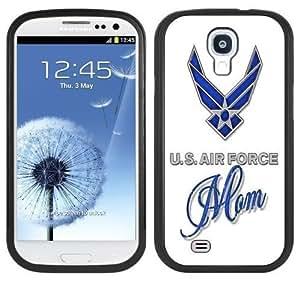 Air Force Mom Handmade Samsung Galaxy S4 Black Bumper Hard Plastic Case