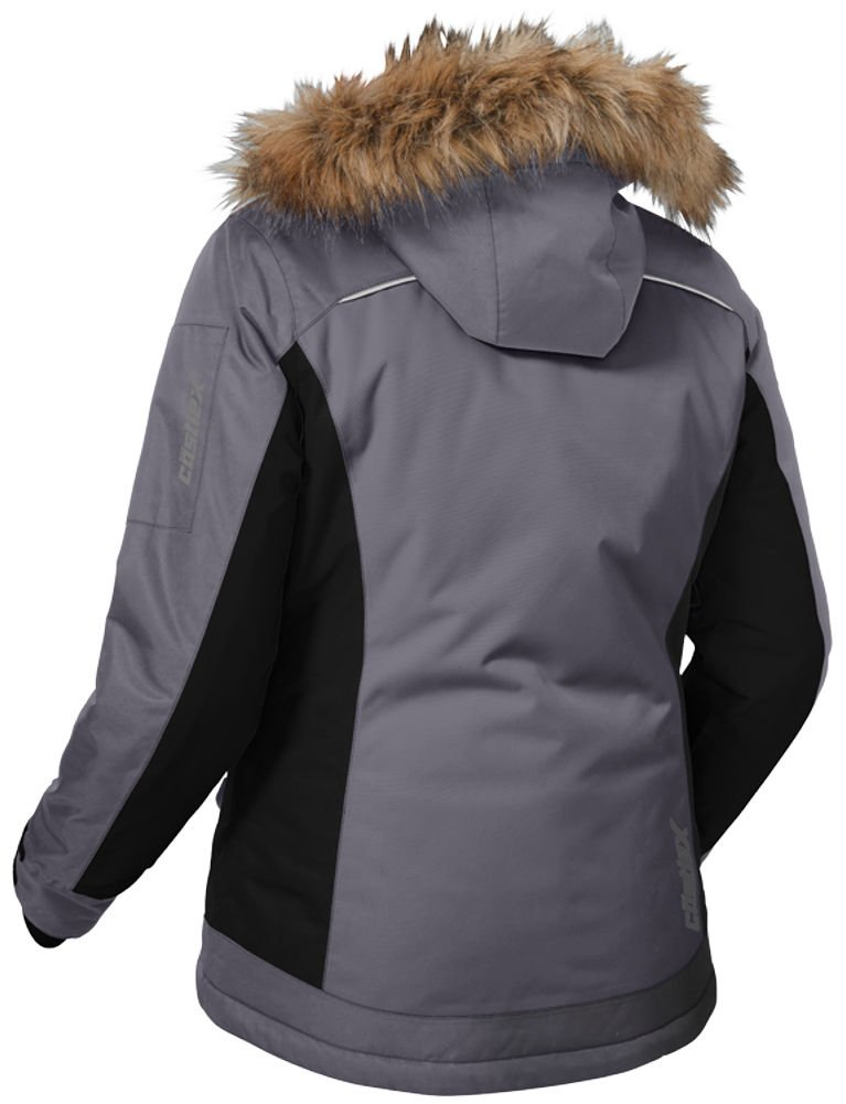 730dc67b99d Amazon.com  Castle X Tempest Back Country Womens Snowmobile Jacket -  Charcoal - 2X-Large  Automotive