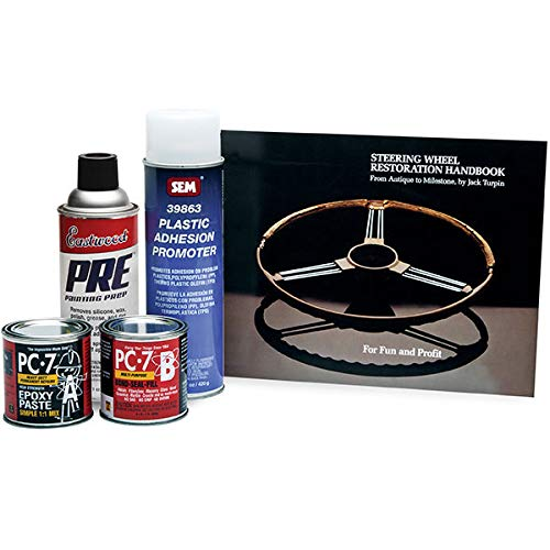 Steering Wheel Restoration Kit - Eastwood Master Adhesion Promotive Steering Wheel Repair Kit with Instructions
