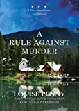 Front cover for the book A Rule Against Murder by Louise Penny