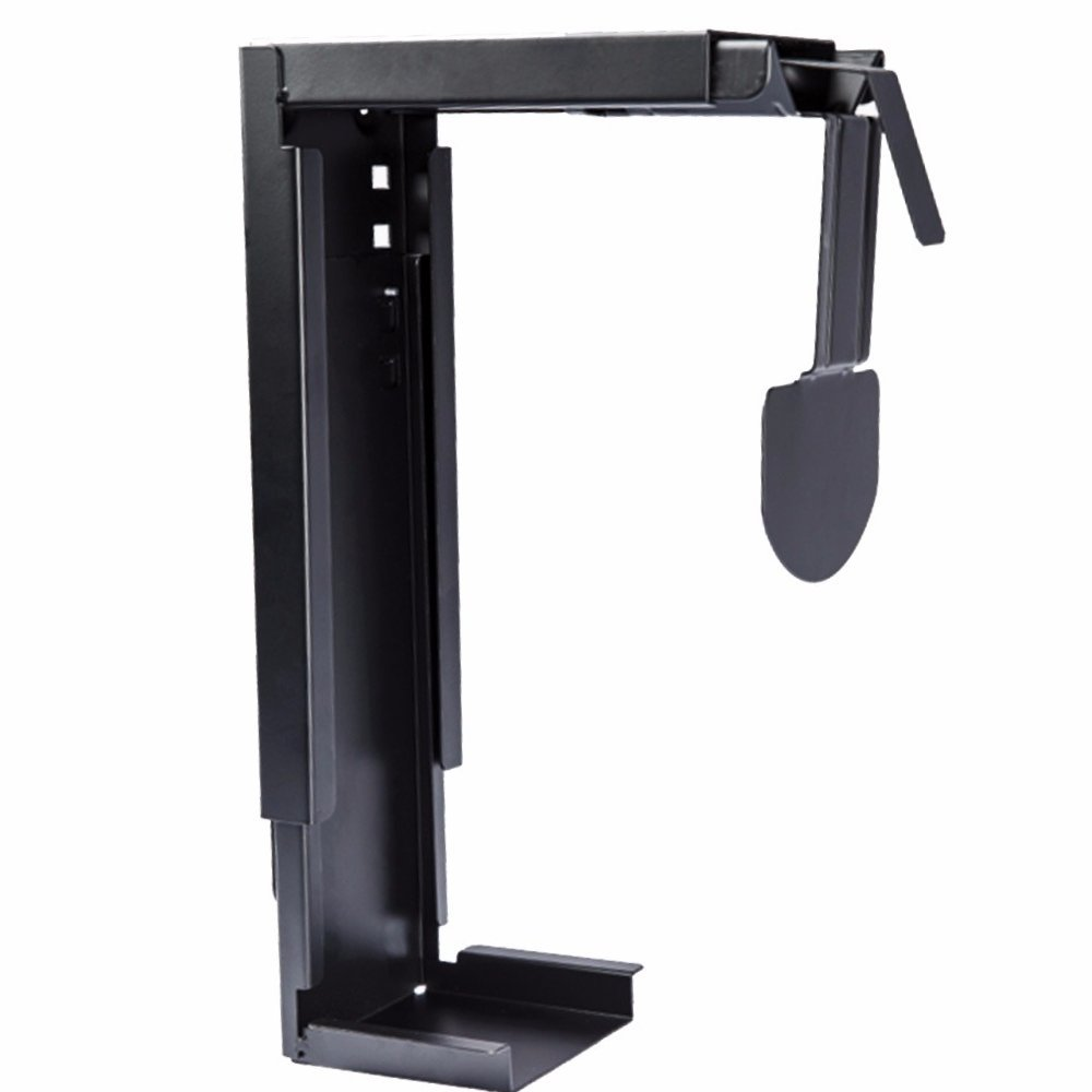 GT Innovation New Under Desk Mount for Desktop Tower PC Computer Tower CPU Holder Computer Case Holder Tower Mount