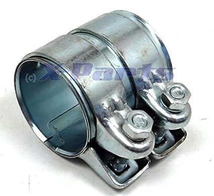 63,5 mm Tubo de acero inoxidable Conector doble abrazadera ...