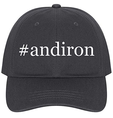 The Town Butler #Andiron - A Nice Comfortable Adjustable Hashtag Dad Hat Cap, Dark Grey, One Size