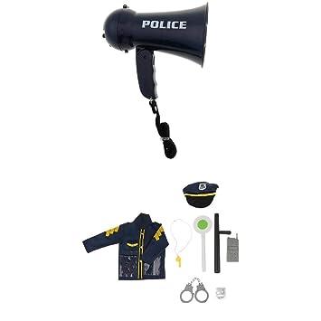 perfeclan 9pcs Niño Tráfico Oficial de Policía Juego de rol Kits ...