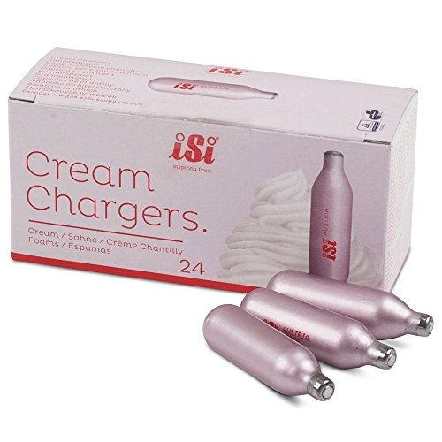 how to use isi cream chargers