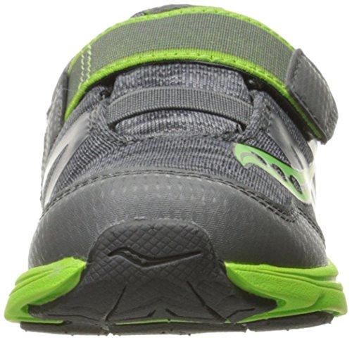 Saucony Kids Baby Ride Pro Running Shoe Grey/Green