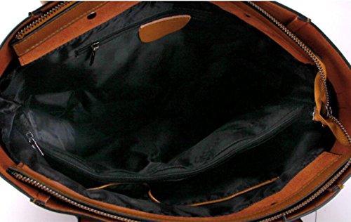 Fashion New Network Top Totes Wenl Diagonal Shoulder Genuine Crimson Bags Wax Bags Leather Handbags Handle Z8BqHwR