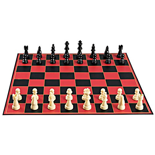 (Point Games Classic Chess Board Game, with Super Durable Board, Best Folding Board Game for The Entire Family. )