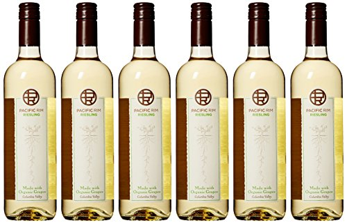Pacific Rim Dry Riesling (2013 Pacific Rim Riesling Made from Organic Grapes Wine 6 Pack, 6 x 750)