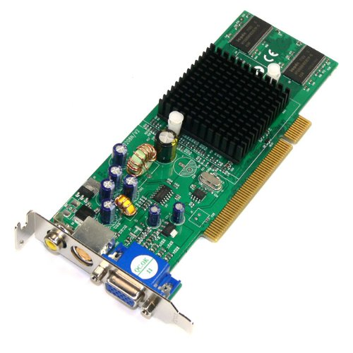 Jaton GeForce MX4000 128 MB TV-out Low-Profile PCI...