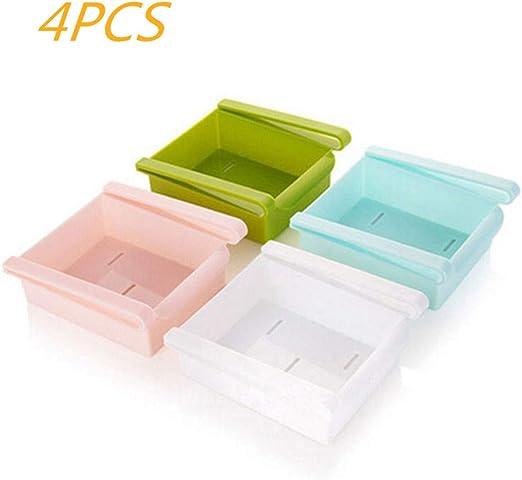 MIGUU 4 PCS Nevera Caja de Almacenamiento de Cocina para Guardar ...