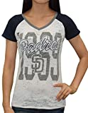 SD PADRES: Womens Short Sleeve T-shirt (Vintage Look)