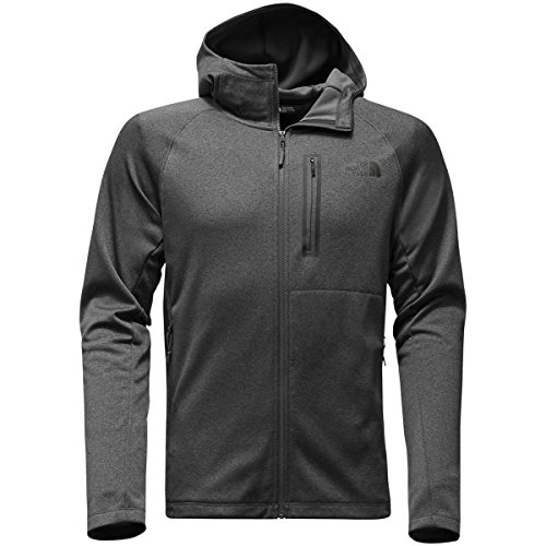 The North Face Mens Canyonlands Hoodie - TNF Dark Grey Heather - - Face Chart Male