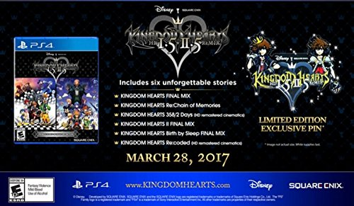 Kingdom Hearts HD 1.5 + 2.5 ReMIX Limited Edition - PlayStation 4