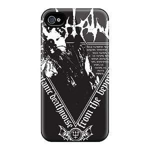 Excellent Hard Phone Cases For Iphone 4/4s (LVb17786TpGe) Unique Design Trendy Avenged Sevenfold Skin