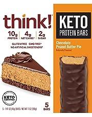Think! Keto Protein Bar: Chocolate Peanut Butter Pie