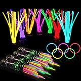 Best Glow Sticks - 400 Glow Sticks Bulk Party Supplies - Glow Review