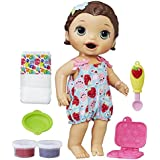 Baby Alive Super Snacks Snackin' Lily (Brunette) (Amazon Exclusive)