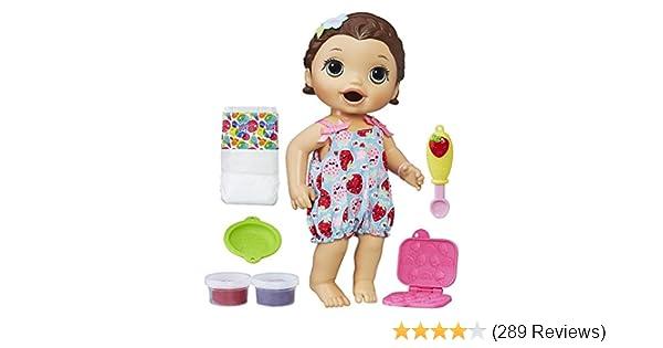 8bef5405a Amazon.com  Baby Alive Super Snacks Snackin  Lily (Brunette) (Amazon ...